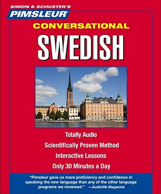 [CD] Swedish, Conversational By Pimsleur (COR)